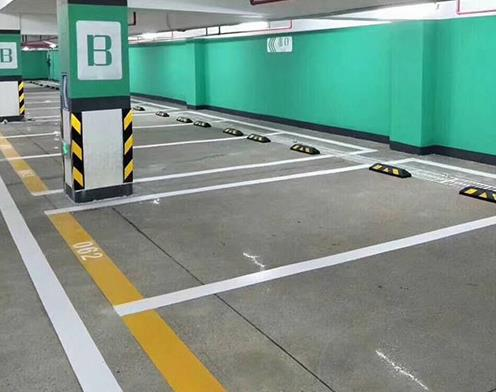 淄博停车场划线
