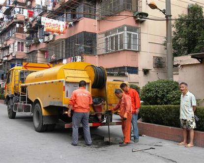 成都市政管道疏通施工