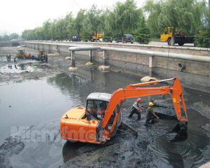 成都河道清淤