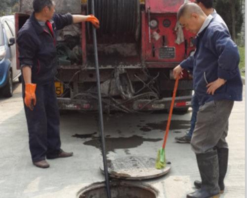 四川管道疏通施工