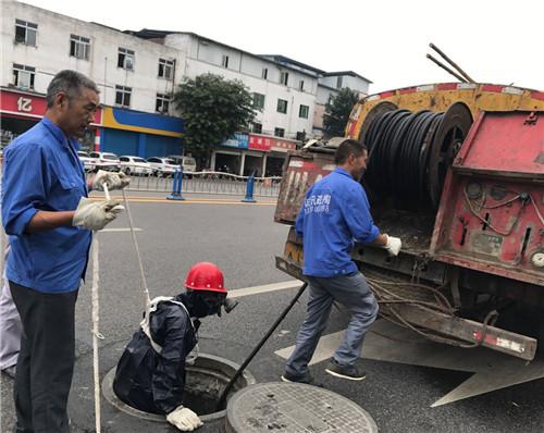 市政污管道疏通