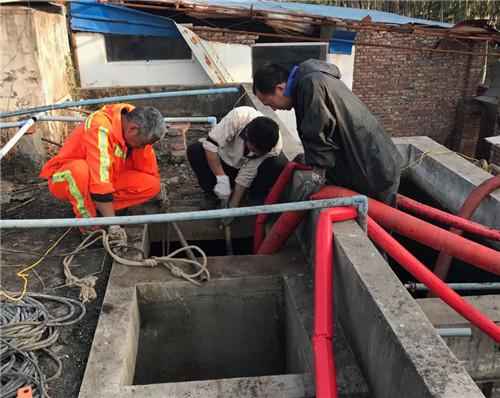 污水处理池清理