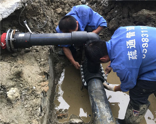 自来水管道抢修