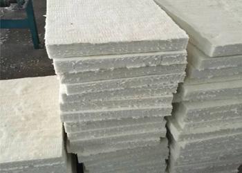 硅酸铝甩丝绵板