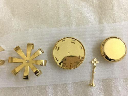 电镀金色装饰件