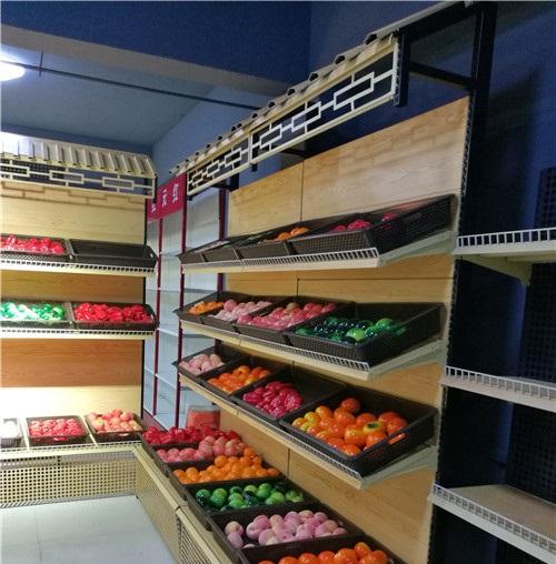 郑州果蔬超市货架