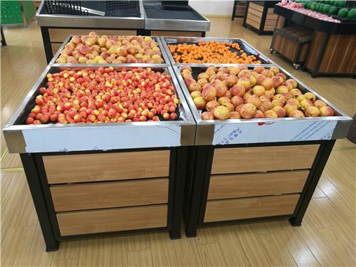 河南蔬果超市货架