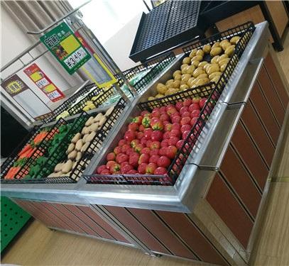 郑州蔬果展示货架