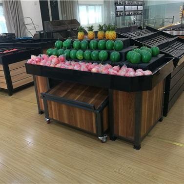 蔬果超市货架