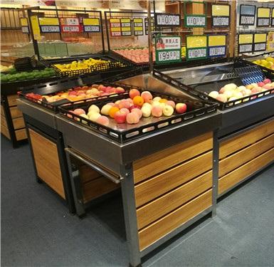 超市果蔬貨架