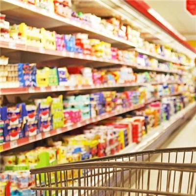 河南超市食品货架