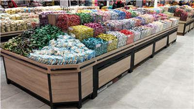 河南超市水果架