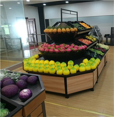 超市果蔬貨架厂家