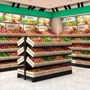 超市生鲜货架
