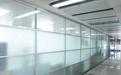磨砂玻璃隔断墙