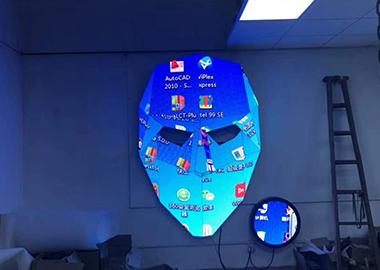 脸谱形LED显示屏