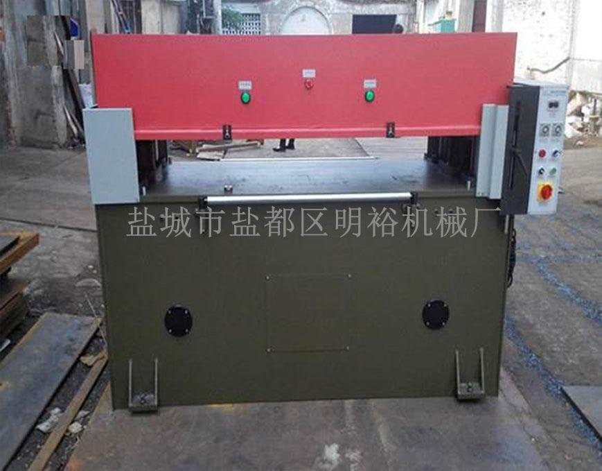 油压单杆式精密四柱裁断机