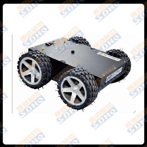 轮式车盘检查机器人