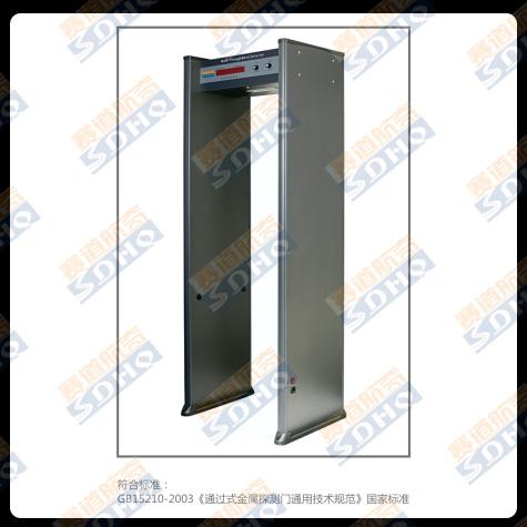 单区位金属探测安检门