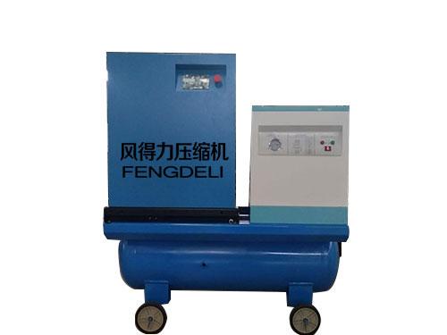 无油空压机热水机