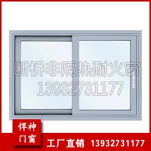 钢制非隔热防火窗