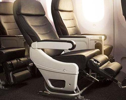 安装航空椅