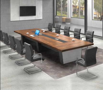 简约现代商务会议桌椅组合