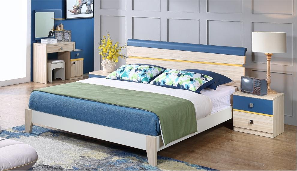 情定地中海风格配套床