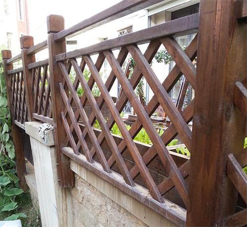 防腐木围栏厂家