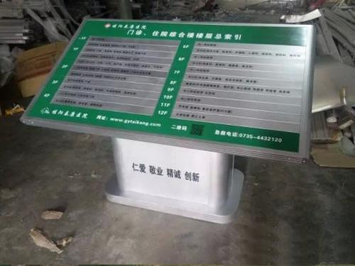 石家庄标识标牌厂