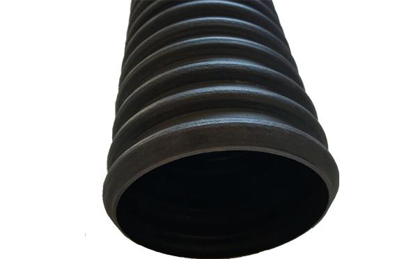黑色PE110双壁波纹管