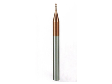 整体硬质合金微小径2刃球头铣刀