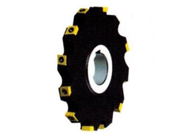 立装可转位槽铣刀