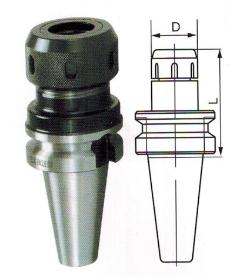BT30,BT40,BT50-QC弹簧夹头刀柄