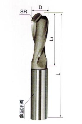 硬质合金焊接球头立铣刀