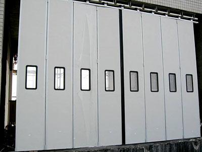 多扇重型折叠门