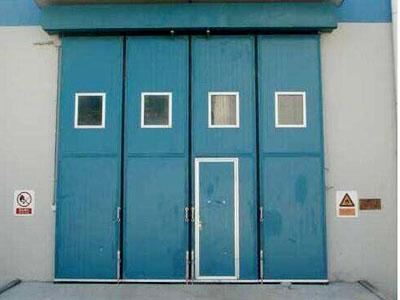 双扇折叠门