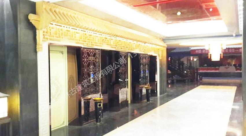 梁山水浒大酒店效果图-徽派中式古建筑工程