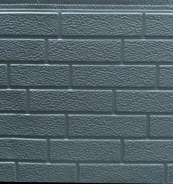 细砖纹金属外墙装饰保温板