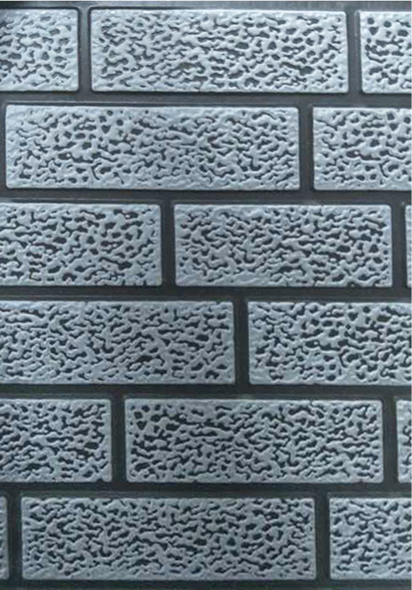 深灰色双色细砖纹