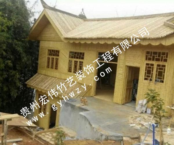 贵州竹楼安装