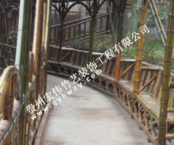 竹长廊制作