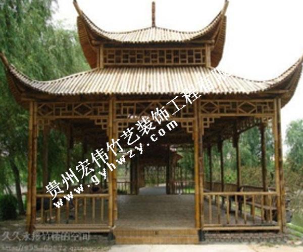 贵州竹凉亭
