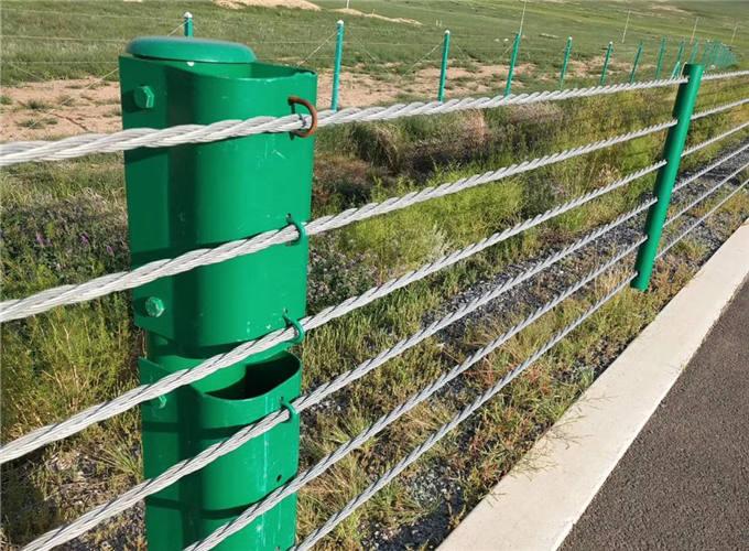 四川喷塑柔性缆索护栏