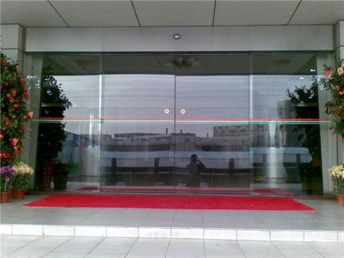 酒店玻璃感应门