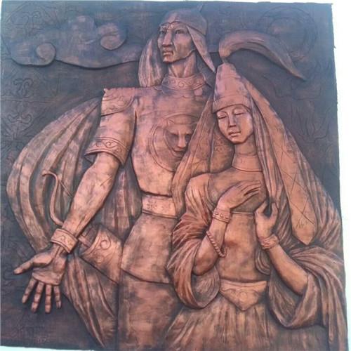 欧式人物雕塑