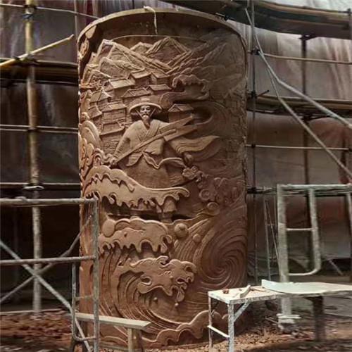 红砂石浮雕生产厂家