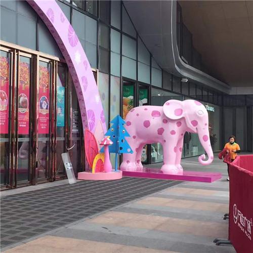 玻璃钢大象