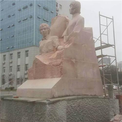 青石人物雕像厂家