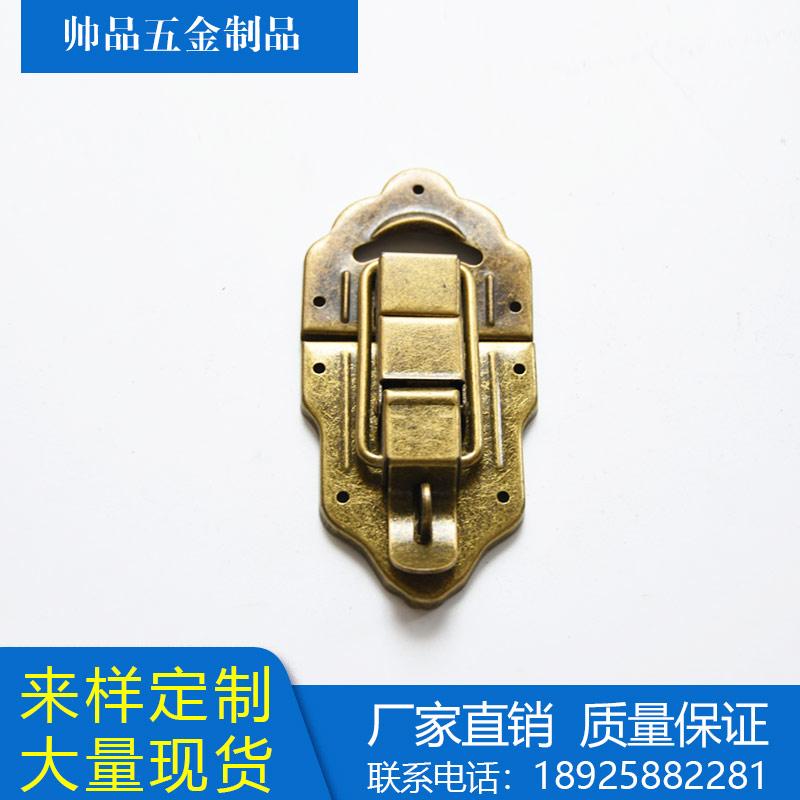 古铜色锁扣